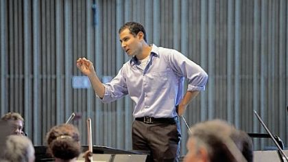 Fawzi Haimor, assistant conductor of the Pittsburgh Symphony Orchestra.