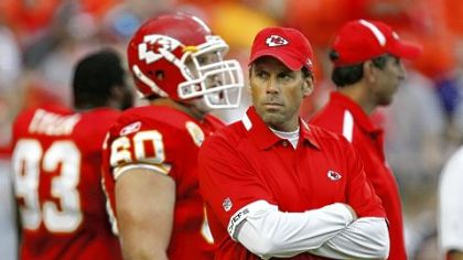 Todd Haley was fired as Kansas City Chiefs head coach after 13 games into the 2011 season.