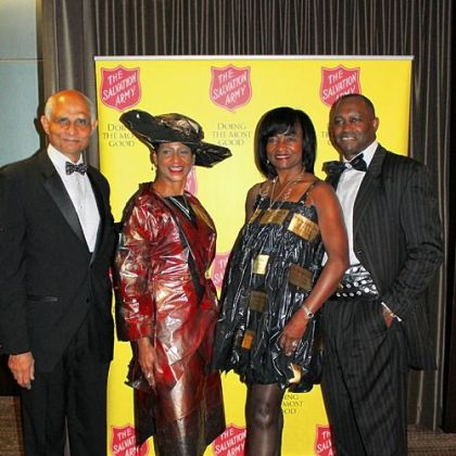 Walter Hales, Jr., Judge Kim Clark, Joy Maxberry Woodruff and Dwayne Woodruff.