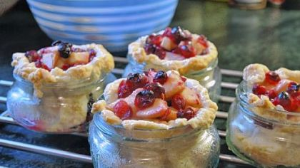 Pear-Cranberry-Ginger Cutie Pies.