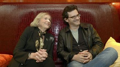 Actress Eva Marie Saint and Ben Mankiewicz, a host of Turner Classic Movies, have found a young, appreciative audience for classic movies as they travel around the country.