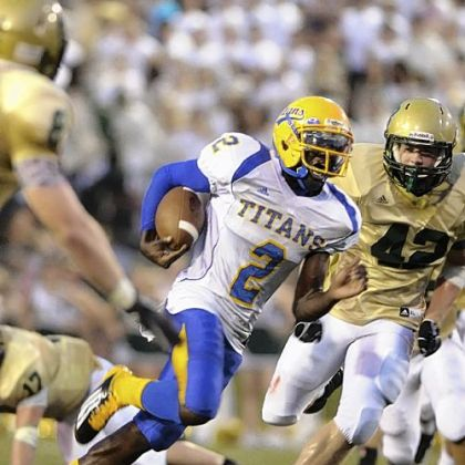 West Mifflin quarterback Derrick Fulmore has rushed for 754 yards and thrown for 726 in 11 games this season.