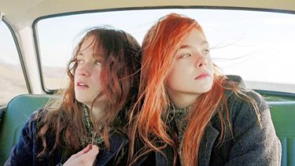"Elle Fanning (right) and Alice Englert play the title roles of teens in 1962 London in ""Ginger & Rosa,"" screening as part of the Three Rivers Film Festival today and Friday."