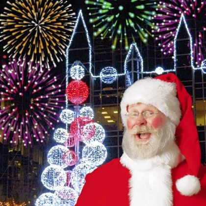 The 14th Santa Spectacular show will take place at Point State Park.