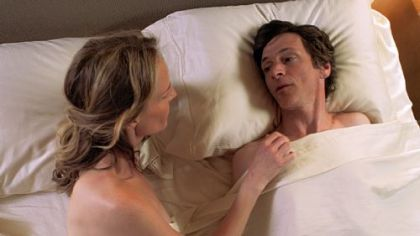 Helen Hunt and John Hawkes in &#039;The Sessions.&#039;