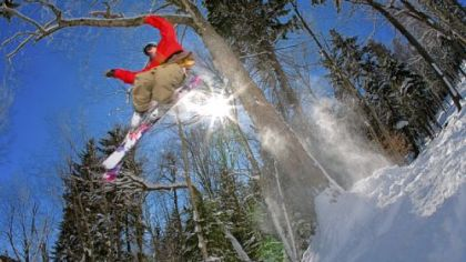 Snowshoe Mountain Ski Resort in West Virginia has opened a 7-acre section of woods adjacent to the Knot Bumper trail for snowboarding and glade skiing.