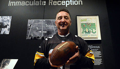 Immaculate Reception football means a lot to its caretaker