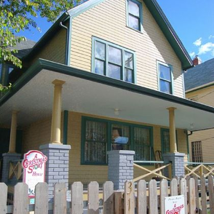 "Ralphie's ""A Christmas Story"" House and Museum is in Cleveland's Tremont neighborhood."