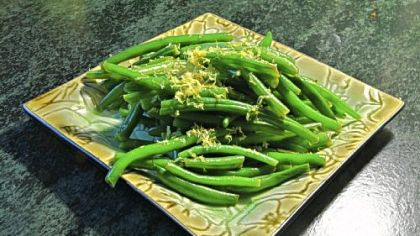 Lemon Green Beans -- simple and good.
