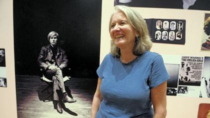 Ann Fallon visits The Andy Warhol Museum. She is teaching her nursing students how to deal with mentally ill patients using a simulated character she calls Andrea Warhol.