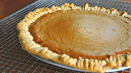 John Howey, executive chef at UPMC Presbyterian Shadyside, has found the perfect balance in his pumpkin pie.
