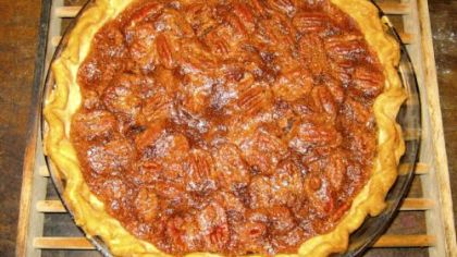 Crispy Pecan Pie.
