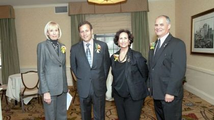 Barbara McNees, Jim Scalo, Yvonne Campos and Mike Smith.