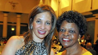 Dr. Catherine Udekwu and Jackie Dixon.