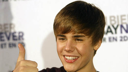 Singer Justin Bieber will perform Nov. 20 at Consol Energy Center.
