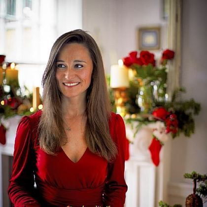 Pippa Middleton from her new book, &quot;Celebrate.&quot;