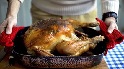 Roast turkey from Pippa Middleton book.