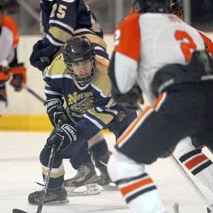 Norwin's Alex Moxie has scored four goals in five games.