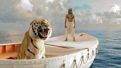 Pi Patel (Suraj Sharma) and a fierce Bengal tiger named Richard Parker must rely on each other to survive an epic journey.
