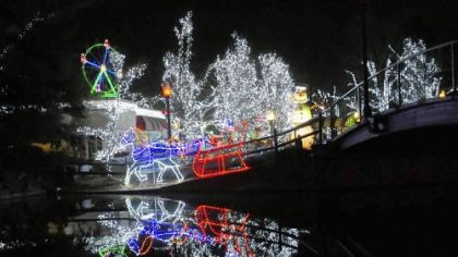 Kennywood's Holiday Lights has been extended this year through Dec. 30.