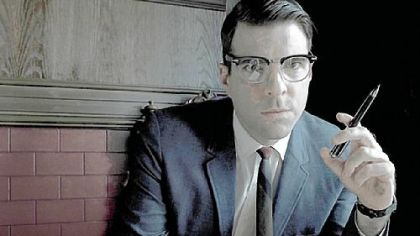 "Pittsburgh native Zachary Quinto portrays Dr. Oliver Thredson on ""American Horror Story: Asylum."""