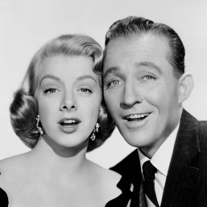 "Rosemary Clooney and Bing Crosby starred in the 1954 movie ""White Christmas."""
