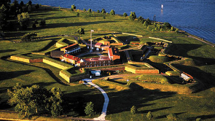 "Fort McHenry brings the War of 1812 to life, including Francis Scott Key's inspiration for writing ""The Star-Spangled Banner"" in 1814."