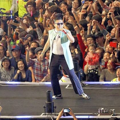 """Gangnam Style"" performed by South Korean rapper Psy is now YouTube's most viewed video of all time."