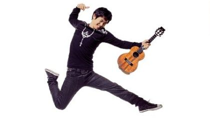 Jake Shimabukuro has been described as the Jimi Hendrix of the ukulele.