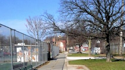 Manchester Playground on North Franklin Street is among the areas that will be inventoried this winter and spring.