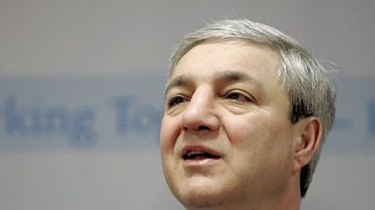 Graham Spanier in a 2007 file photo.