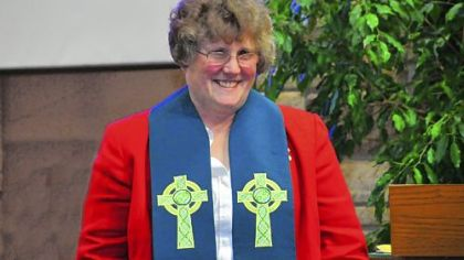 "The Rev. Marion ""Marnie"" Silbert."
