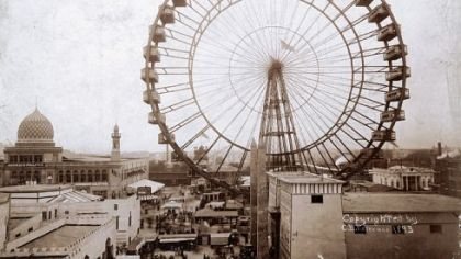 The Ferris wheel, which debuted at the 1893 World's Columbian Exposition in Chicago, was designed by Pittsburgh engineer George Ferris. A replica model of this world's fair marvel is at the Heinz History Center.