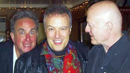 Record exec Ray Farrell, Dead Kennedys singer Jello Biafra and Russ Ketter. Mr. Ketter will open Rather Ripped record store in Lawrenceville this weekend.