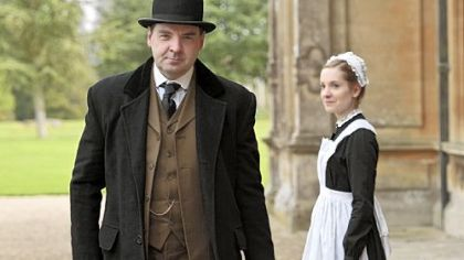 The British TV home of &quot;Downton Abbey,&quot; with Brendan Coyle as John Bates and Joanne Froggatt as Anna Smith, has renewed the popular series for a fourth season. It will continue to air on PBS&#039;s &quot;Masterpiece&quot; in early 2014 following season three on PBS, which begins Jan. 6.