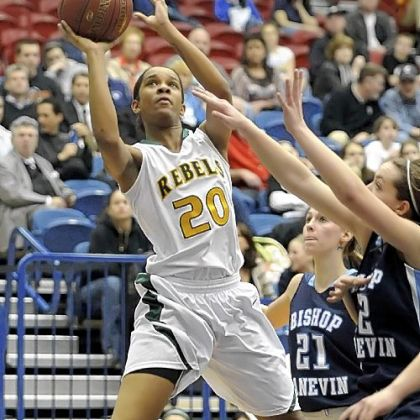 Seton-LaSalle junior Naje Gibson averaged 16 points per game last season.
