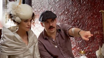 "A meeeting in London changed director Joe Wright's thinking on the staging of ""Anna Karenina,"" starring Keira Knightley."