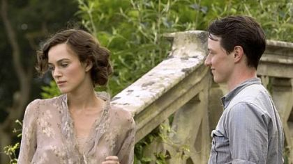 "Joe Wright also directed Keira Knightley and James McAvoy in 2007's ""Atonement."""