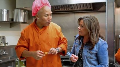 "Hines Ward is mentored by Rachael Ray in season 2 of the reality show ""Rachel vs. Guy: Celebrity Cook-Off,"" premiering Jan. 9 on the Food Network."