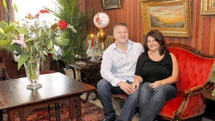 Mark and Kim Moore will open the doors of their Beech Avenue home for the annual Old Allegheny Victorian Christmas House Tour.