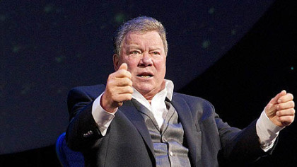"For William Shatner, ""the urge to be an all-around human entertainment franchise is a continuing mission."""