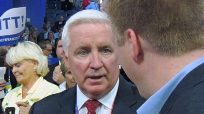 "Gov. Tom Corbett described his relationship with the lawmakers as one that still is ""learning, growing."""