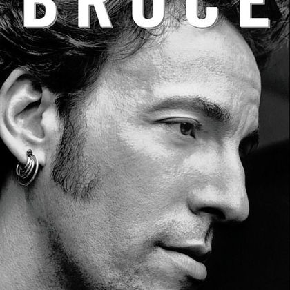 Cover of a new biography on Bruce Springsteen.