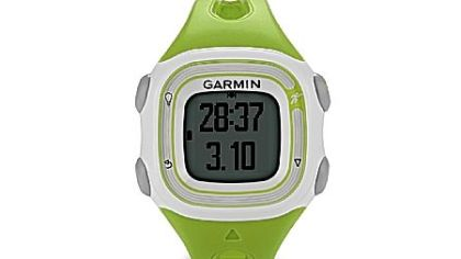 Garmin's Forerunner 10 GPS watch, $129.99 at garmin.com.
