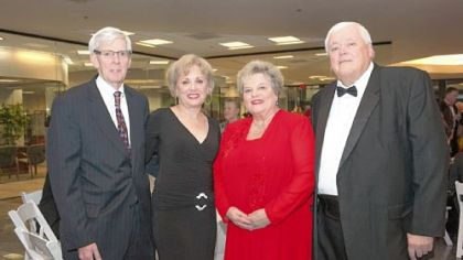 Ray Coll, Dottie Cole with Judy and Dr. Richard Bannon.