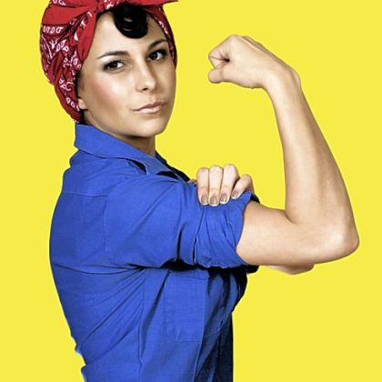 Rosie the Riveter, circa 2012