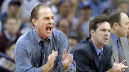 Ben Howland, left, and Jamie Dixon modeled their Pitt teams around Rick Majerus&#039; coaching philosophies. Majerus died Saturday from heart failure. He was 64.