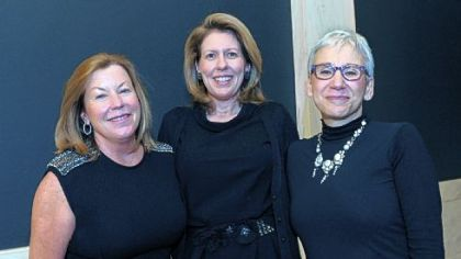 Debbie Dick, Women's Committee president Susan Block and CMA director Lynn Zelevansky.