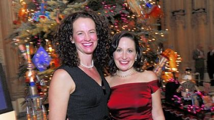 Chairs Tara Safar and Melissa Ferrari.