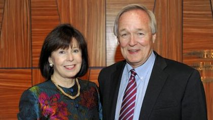 Co-chairs Bonnie and Tom VanKirk.
